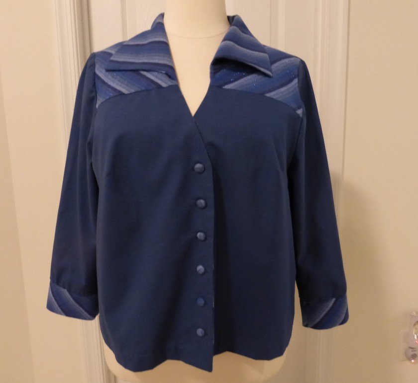 Blue Blouse #1 (2)
